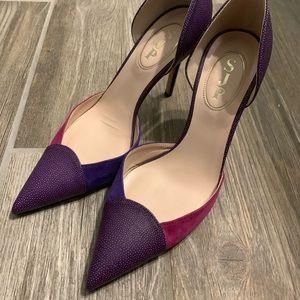 SJP Purple Heels